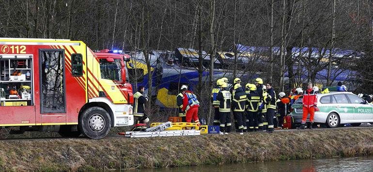 Allemagne : au moins neuf morts et une centaine de blessés dans un accident
