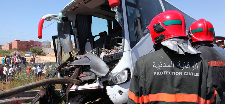 Accidents de la circulation : 12 morts et 1.675 blessés en périmètre urbain