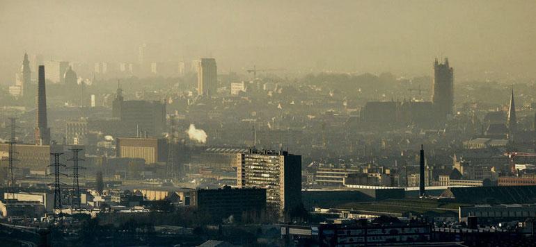 L'air pollué cause 12.000 décès prématurés par an en Belgique