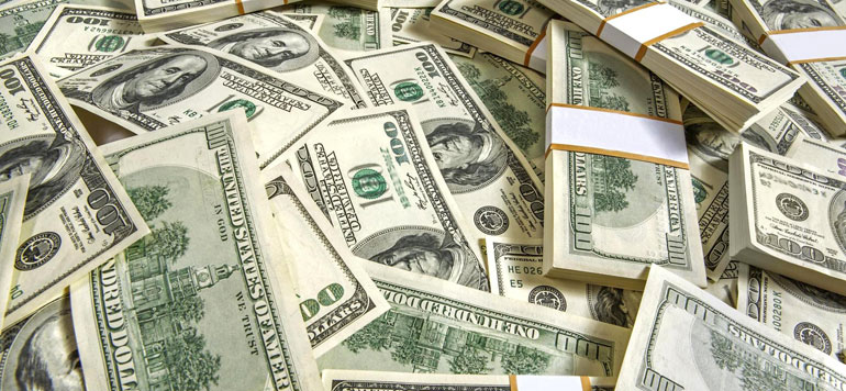 Hausse de 24% du dollar face au dirham depuis 2014