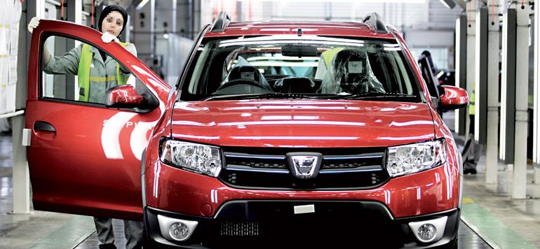 Vente de voitures : le Groupe Renault atteint un nouveau record en 2016