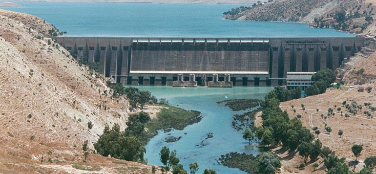 Barrages : un taux de remplissage de 54,6%