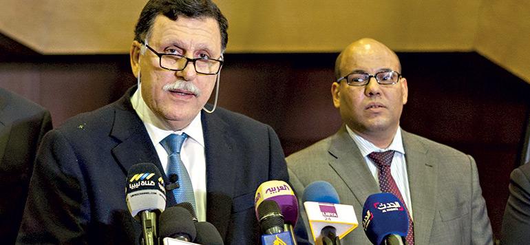 Un Exécutif libyen à Skhirat