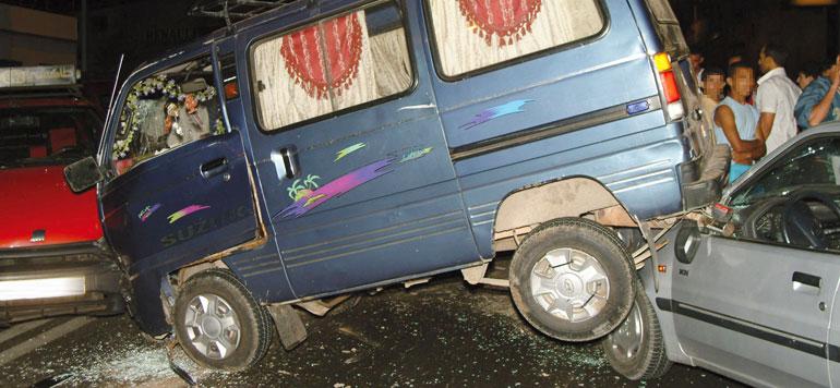 Accidents de la circulation : 17 morts et 1.828 blessés en une semaine