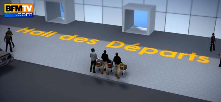 Attentats de Bruxelles: l'attaque de l'aéroport reconstituée en 3D