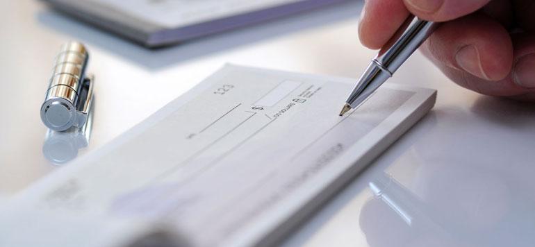 Chèques sans provision : les chiffres grimpent mais les juges sont plus cléments…