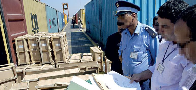 Casablanca : saisie de plus de 600 tonnes de produits alimentaires de contrebande