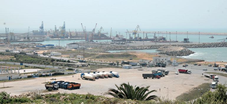 Les travaux d'extension et de réhabilitation du port de Jorf Lasfar réalisés à plus de 75%
