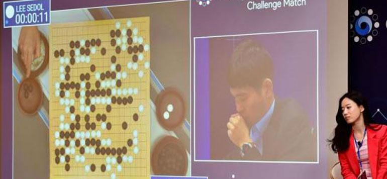 Le Robot de Google ou quand l'intelligence artificielle bat l'humaine