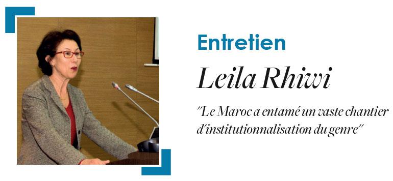Spécial 8 Mars : Entretien avec Leila Rhiwi, Représentante du bureau multi-pays ONU femmes pour le maghreb