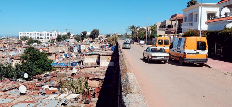 Les bidonvilles d'Anfa, l'envers du décor de l'arrondissement le plus luxueux de Casablanca