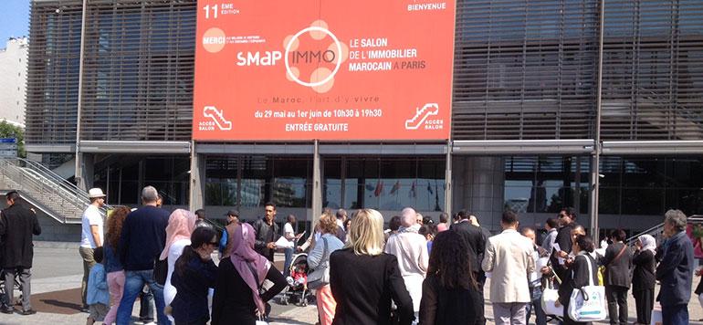 SMAP EXPO Bruxelles 2016 : Entretien avec Samir El Chammah, Président du Salon SMAP Immo