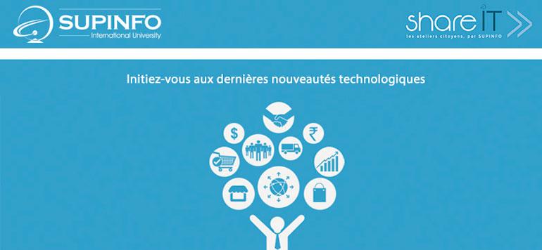 Supinfo Maroc vulgarise les nouvelles technologies à travers des ateliers gratuits