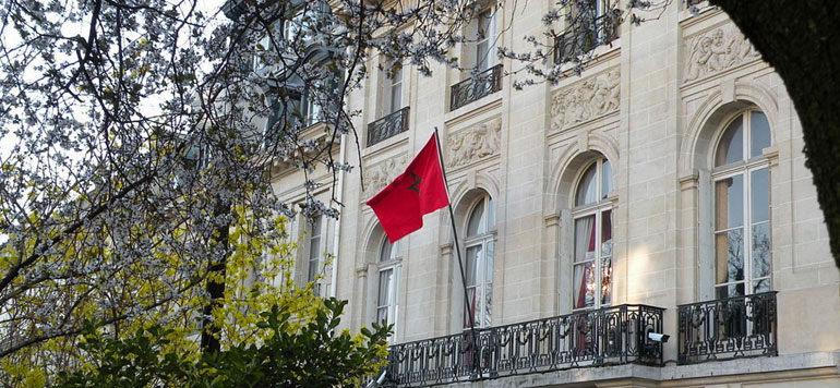 Des têtes de porc devant la résidence de l'ambassadeur du Maroc à Paris