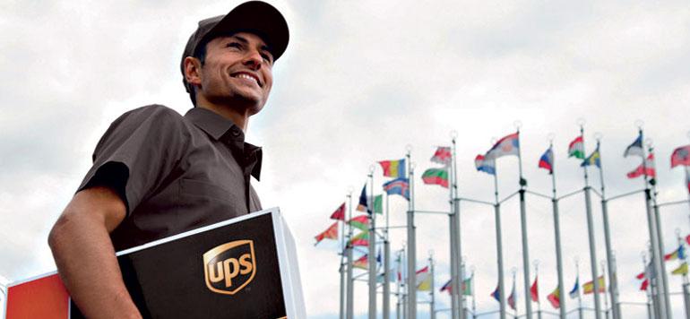 Le service de livraison de colis UPS Worldwide Express au Maroc