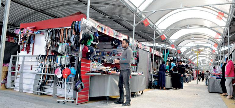 Le concept de «Souk Namoudaji» séduit les marchands ambulants
