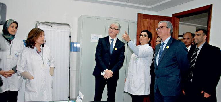 3,5 MDH pour aménager et équiper des structures sanitaires à Casablanca