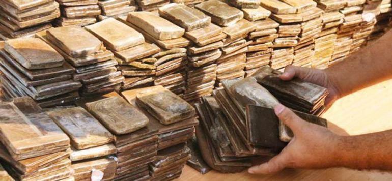 Saisie de 850 kg de haschich au large de Tarifa