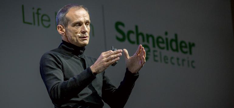 Schneider Electric met le paquet sur l'innovation pour plus d'efficience