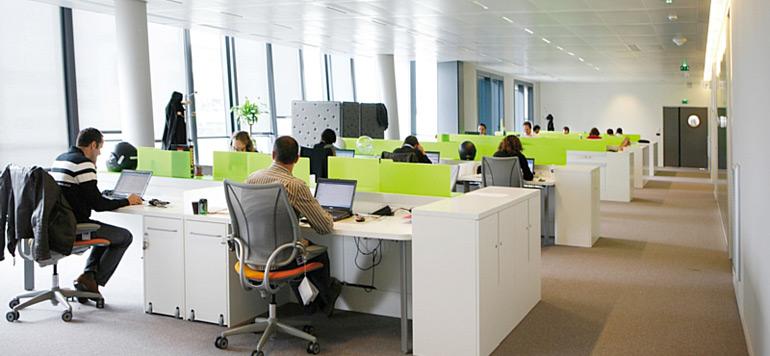 Aménagement de l'espace de travail et «expérience collaborateur»
