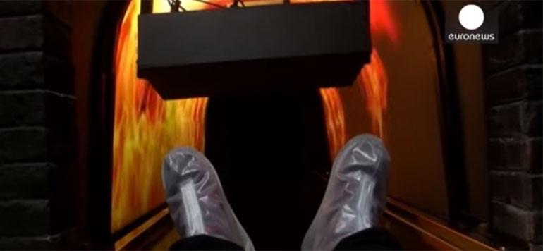 Nouvelle expérience chinoise : un simulateur de mort !