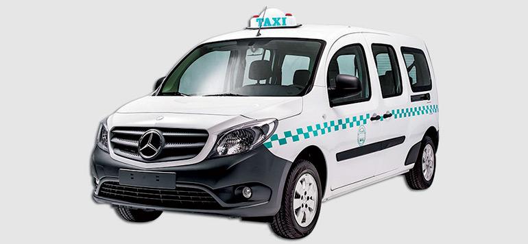 La Mercedes Citan à l'assaut du marché des grands taxis