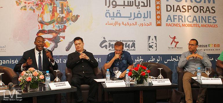Festival Gnaoua d'Essaouira : le Forum débat des Diasporas africaines