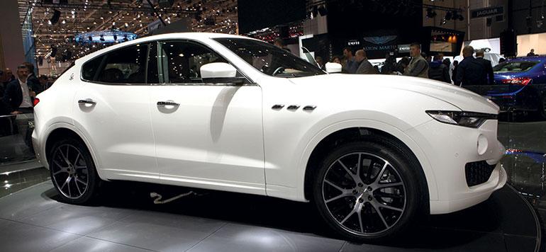 Auto-Expo 2016 : La marque italienne Maserati se lance dans le segment des SUV