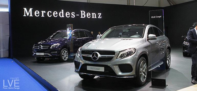 Mercedes sur une bonne lancée commerciale