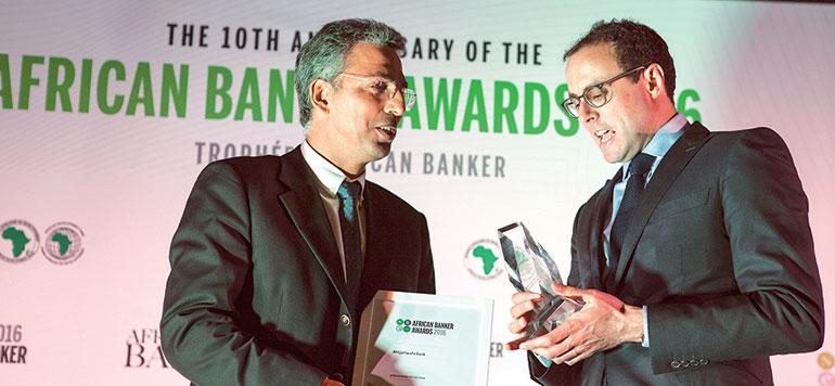Attijariwafa bank primée par l'African Banker 2016
