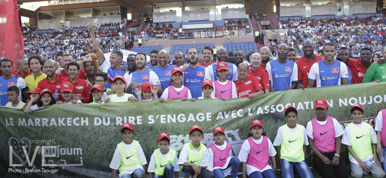 Le «Charity Football Game» clôture le Marrakech du rire