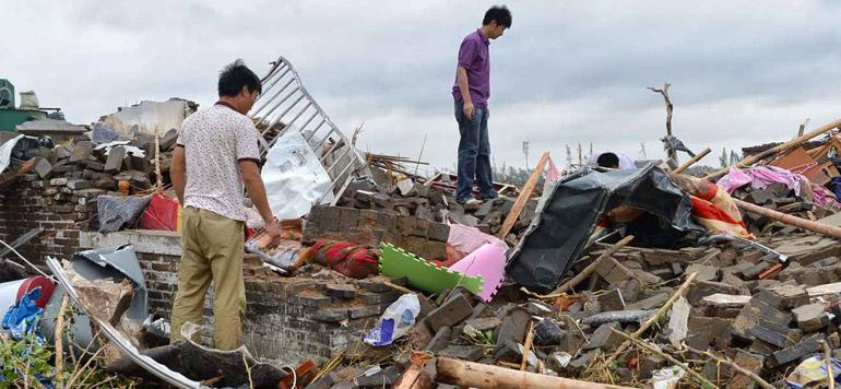 Chine: Une Tornade fait au moins 98 morts et 800 blessés