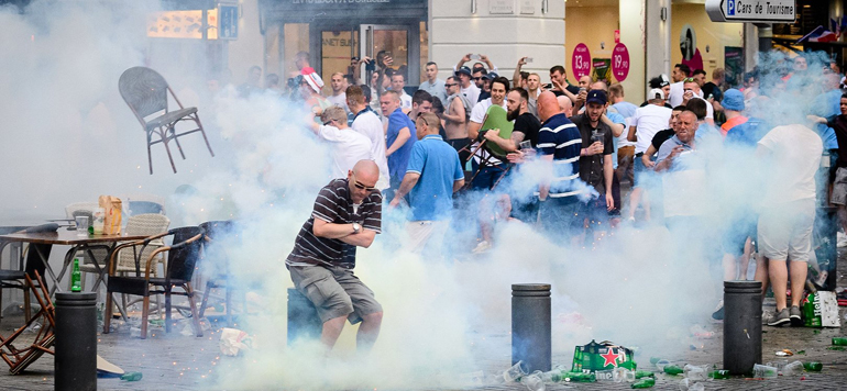 Euro 2016 : Plus de 1.000 personnes interpellées depuis le début de la compétition