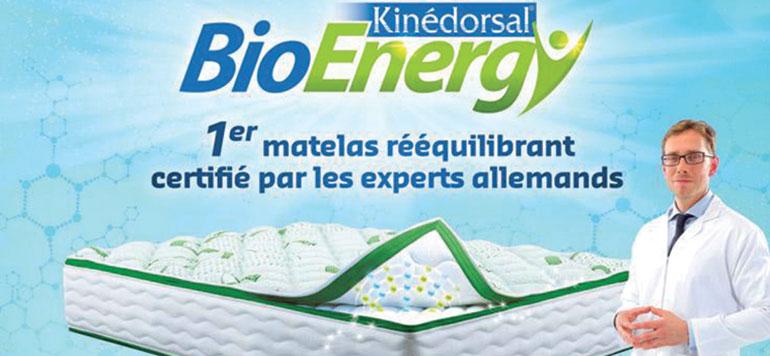 Dolidol lance le matelas Kinédorsal Bioenergy