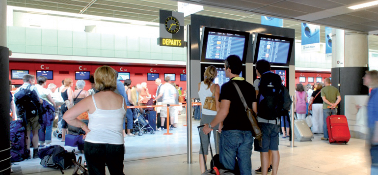 Aéroports marocains : Près de 69% du trafic aérien est drainé par l'Europe