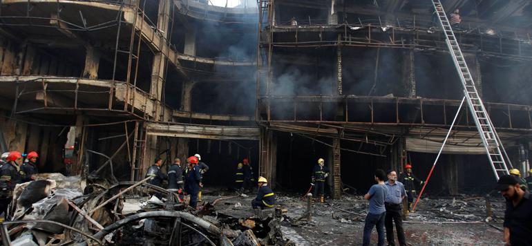 Attentat terroriste à Bagdad: le bilan s'alourdit encore et passe à plus de 200 morts
