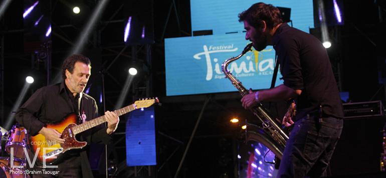 Festival Timitar : Sidi Bémol et son groupe enflamment la scène