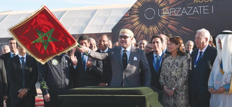 Le dernier pan du complexe solaire de Ouarzazate se met en place