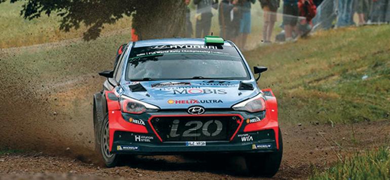 Hyundai Motorsport classé 3e au Rallye de Pologne