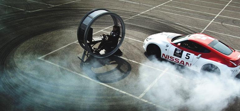 Nissan promeut la course automobile à travers sa GT Academy