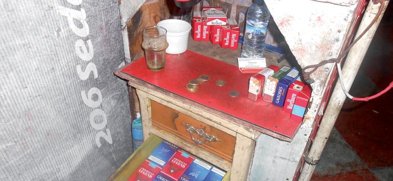 Les quantités de cigarettes de contrebande écoulées sur le marché ont fondu de moitié