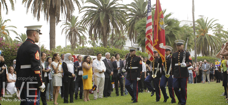 En images – USA : The independence day à casablanca