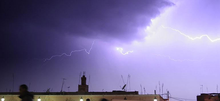 Alerte météo: Averses orageuses localement fortes dans plusieurs régions