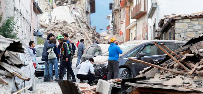 Italie : Un séisme fait au moins 5 morts