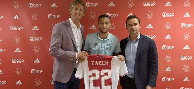 Lions de l'Atlas : Ziyech signe à l'Ajax