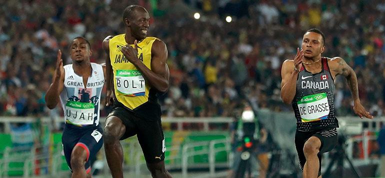 JO-2016 : triplé historique pour Usain Bolt