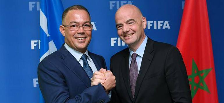 Président de la FIFA: Le Maroc peut organiser les plus grands événements de football