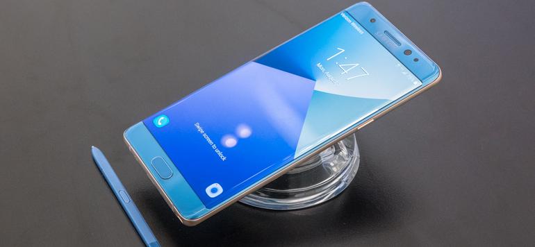 Galaxy Note7 : Samsung rassure
