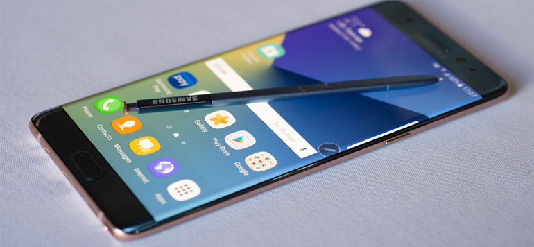 Samsung : suspension des ventes du Galaxy Note 7 en raison d'une explosion de batterie