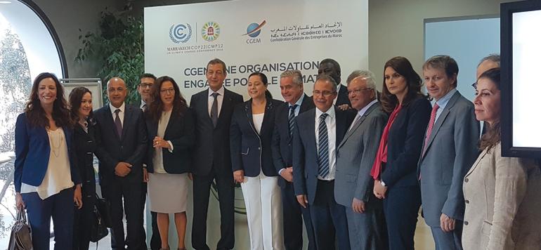 Le patronat se mobilise pour la COP22